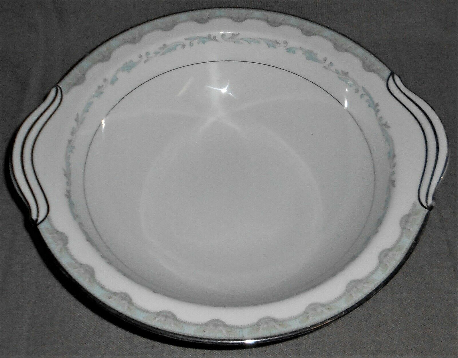 Primary image for Noritake China MARGARET PATTERN Handled Serving or Vegetable Bowl MADE IN JAPAN