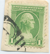 S38- 1 Cent George Washington Stamp Scott #705 - $0.99