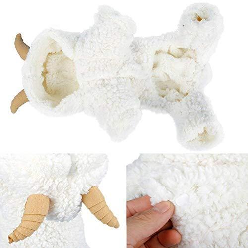 AOFITEE Cute Cartoon Sheep Rabbit Shape Halloween Cosplay Costume Winter Warm Fl
