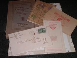 Lot Programs Books Souvenirs Letter Christian Endeavor Denver Convention... - $80.00