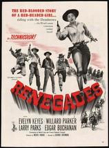 Vintage magazine ad RENEGADES movie 1946 Evelyn Keyes Royal Crown Cola Lamour - $13.49