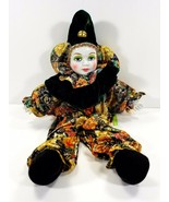 """Porcelain Mardi Gras Style Doll 18""""- Pre-Owned Never Used. Collectible! - $24.15"""