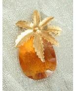 Coventry Art Moderne Cut Glass Pineapple Pendan... - $19.95