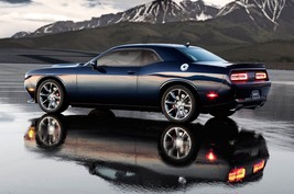 2015 Dodge Challenger SRT rear side view POSTER | 24 x 36 INCH | muscle ... - $18.99