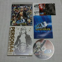 Sony PS2 Persona 4 Ultimax Ultra Suplex Bodega Laboral Ntsc-J Japonés 19... - $28.31