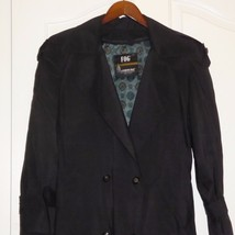 Sz 8 Vintage London Fog Womens Long Trench Coat Jacket Thinsulate Liner ... - $39.55