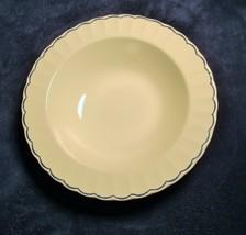 """Ralph Lauren China Featherstitch  Round Vegetable Serving Bowl 10 5/8"""" - $22.76"""