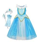 Princess Aurora Costume Briar Rose Accessories Crown Magic Wand 2019 Summer - $34.34+