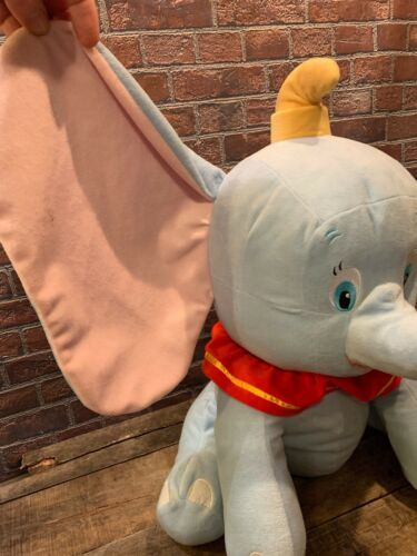 "DUMBO The Flying Elephant 18"" Plush Stuffed Toy Animal Disney Babies"