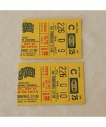 Ringling Bros and Barnum and Bailey Circus Ticket Stub Pair Tickets 1985... - $9.99