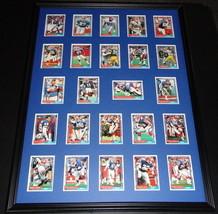 1992 Buffalo Bills Framed 18x24 Topps Team Card Set AFC Champs - $83.79