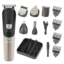 Beard Trimmer 6 in 1 Hair Clipper Electric Trimmer Shaver and Nose Trimmer Elect image 1