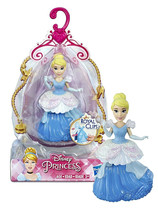 Disney Princesses Cinderella 3.5in Doll with Royal Clips Fashion New in Package - $9.88