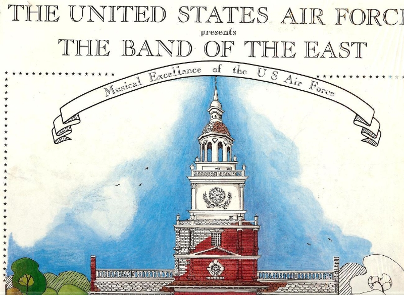 The United States Air Force presents, The Band of the East, Vinyl LP, 1988