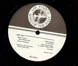 The United States Air Force presents, The Band of the East, Vinyl LP, 1988 image 4