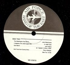 The United States Air Force presents, The Band of the East, Vinyl LP, 1988 image 5