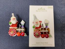 Hallmark Christmas Ornament, Santa's Sweet Ride, Series, 2010 - $20.00