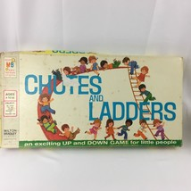Vintage 1974 Chutes and Ladders Board Game Complete #4555 USA  - $10.00