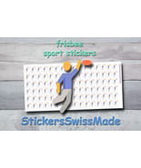frisbee player   planner stickers   sport   for planner and bullet journal - $3.00+