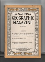 National Geographic - April 1925 - Columbia Ice Field, Yellow Lama - We ... - $2.70