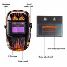 Skull Solar Auto Darkening MIG MMA Electric Welding Mask/Helmet Machine LM - $44.89