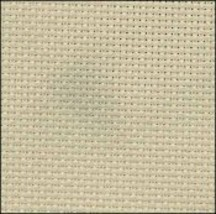 Brown Hand-Dyed Effect 16ct Aida 9x17 cross stitch fabric Fabric Flair - $6.75
