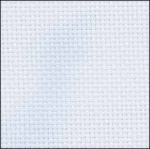 Blue Hand-Dyed Effect 16ct Aida 9x17 cross stitch fabric Fabric Flair - $6.75