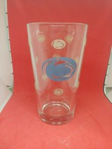 Set of 7 NCAA Penn State Nittany Lions Glass Satin Etch Team Logo Pint Glasses - $49.49