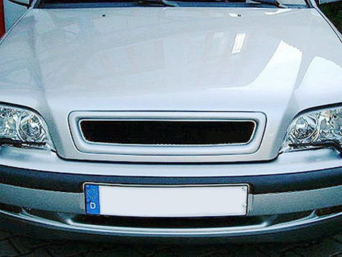 Front Hood Sport Mesh Grill Grille Fits Volvo S40 V40 00 01 02 03 04 2000-2004