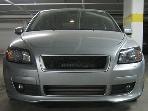 Front Bumper Euro Sport Mesh Grill Grille Fits Volvo C30 07 08 09 10 2007-2010