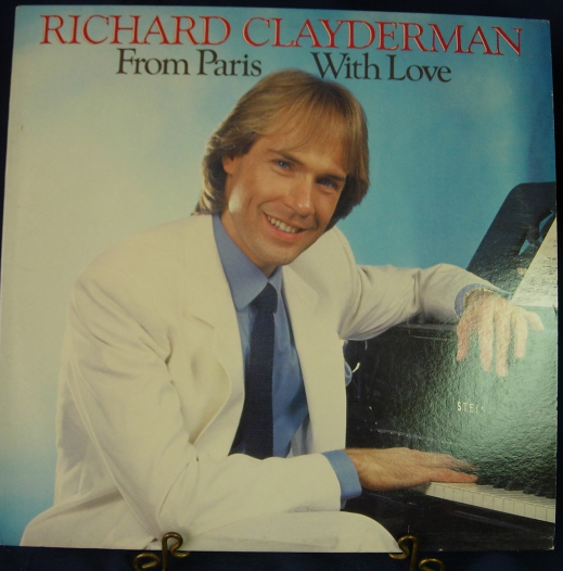 Richard Clayderman - From Paris With Love - Columbia Records FC40174