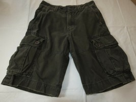 Boys American Eagle Outfitters walk cargo shorts 26 pre-owned GUC <> - $16.03