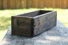 Succulent Planter Box Reclaimed Cedar Storage Wooden Box Rustic Flower F... - $25.74+