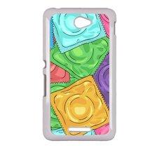 Condom Sony E4 case Customized premium plastic phone case, design #6 - $11.87