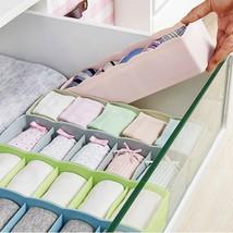 Hot Hot 1pcs 5 cells plastic organizer storage box tie bra socks drawer ... - $7.61