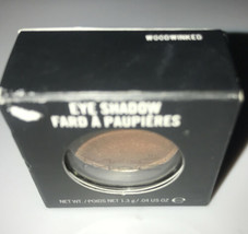 MAC Cosmetics Single Eyeshadow Woodwinked Warm Antiqued Gold Veluxe Pear... - $32.64