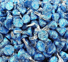 Easter Hershey's Kisses Cookie 'n Creme Blue Wrap Candy Bulk - $22.30+