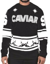 Caviar Cartel SSUR 69 Sharks Long Sleeve Football Jersey Crew Neck Sweater NWT