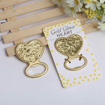 Bottle Opener Creative Metal Glod Heart Beer Personalized Favors &Gifts ... - $4.09