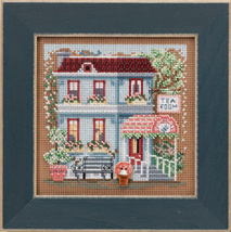 Tea Room 2013 Spring Series beaded button kit Mill Hill image 1