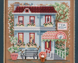 Tea Room 2013 Spring Series beaded button kit Mill Hill image 2