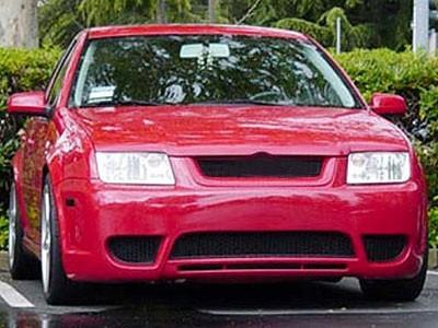 Front Bumper Sport Mesh Grill Grille Fits Volkswagen Jetta Bora 99-05 1999-2005
