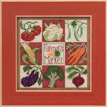 Farmers Market 2013 Spring Series beaded button kit Mill Hill - $11.70