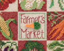 Farmers Market 2013 Spring Series beaded button kit Mill Hill image 3