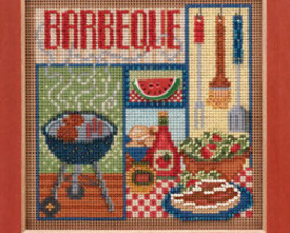 Barbeque 2013 Spring Series beaded button kit Mill Hill image 2