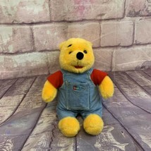 """Winnie The Pooh 14"""" Plush with Hidden Picture Book in Overalls - $18.04"""