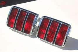 64-66 Ford Mustang Rear Tail Light Lamps Assembly Right Left Hand Set Pair New - $84.79
