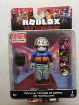 Roblox Shred Snowboard Boy Mini Action Figure + Exclusive Virtual Item Sealed - $15.83