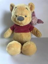 "Disney WInnie THe Pooh Piglet on Shoulder 15"" Soft Plush Stuffed Animal - $29.02"