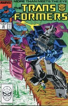 Transformers #38 NM- 1988 Marvel Comic Book - $8.00